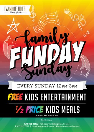 Ivanhoe-Hotel-Family Funday Sunday