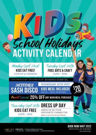 Ivanhoe Hotel - School Holidays
